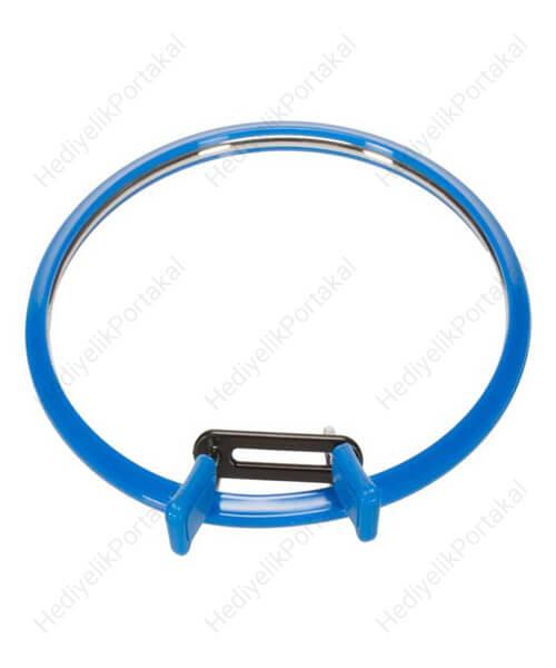 mavi kasnak etamin nakış metal çelik