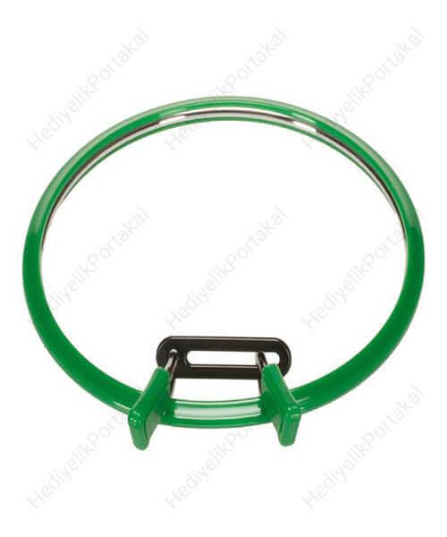yeşil kasnak etamin nakış metal çelik