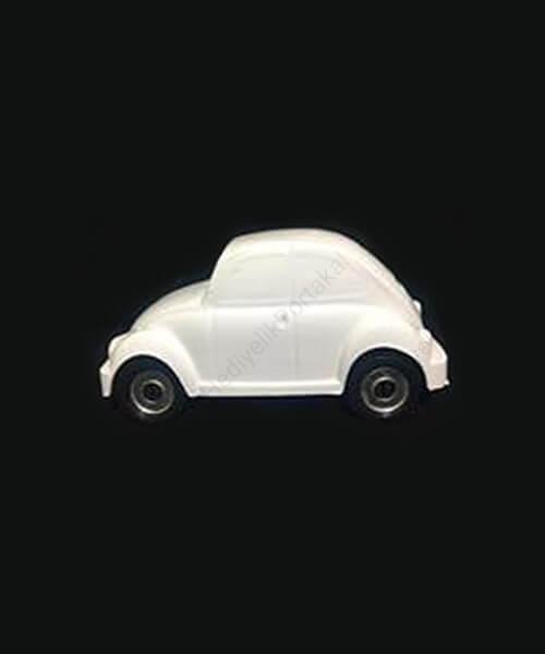 küçük vosvos araba beyaz